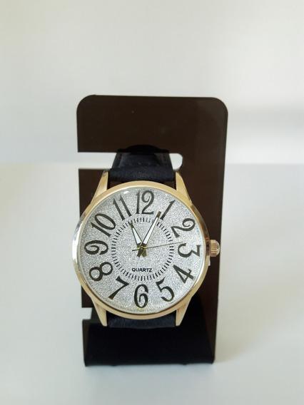 Relógio Quartz Feminino Brilhantes ( Fotos Reais Do Produto)
