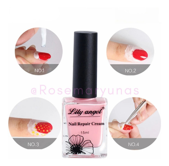 Peel Off Nail Latex Liquido Protector Bordes Uñas Manicuria