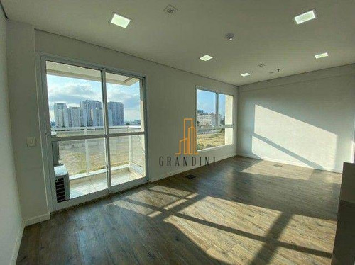 Imagem 1 de 12 de Sala Para Alugar, 38 M² Por R$ 1.600,00/mês - Jardim - Santo André/sp - Sa0175