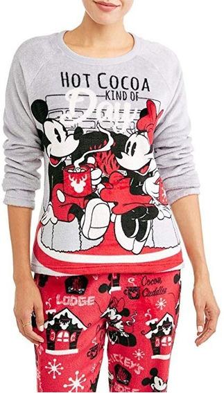 Pijama Importada Para Mujer De Mickey & Minnie 3x Grande