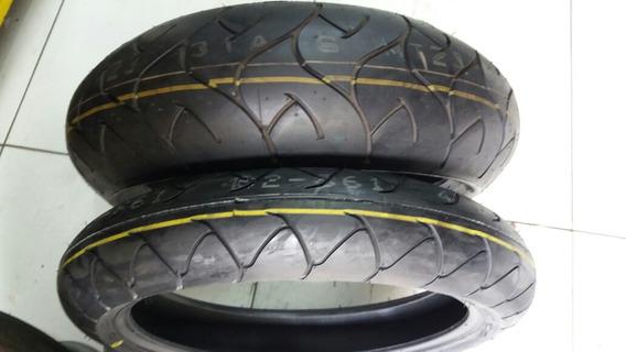 Par Pneu Bridgestone 120/70-17 + 180/55-17 Original Hornet