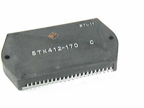Stk412-170 Original Sanyo 3 Meses De Garantia..stk412-170c