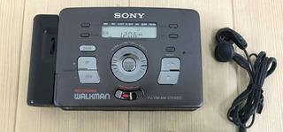 Walkman Radio Cassette Sony Dijital Metalico S/