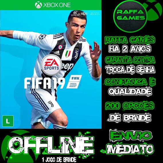 Fifa19 Xbox One Português Br Offline + Brinde