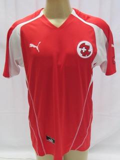 Camisa De Futebol - Seleção Da Suiça - Model 2006 #6 Vogel E