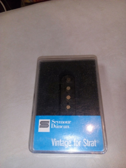 Mic Seymour Duncan Ssl-1 Vntg Staggered For Strat 11201-01