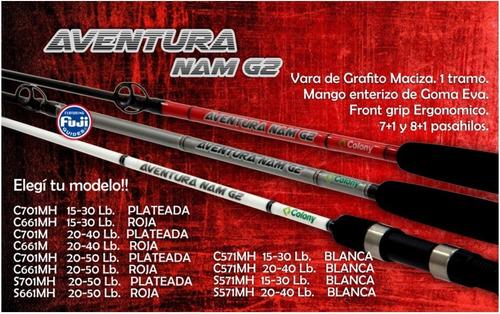 Caña Colony Aventura Nam G2 1 Tramo C661m L-legendary Negra
