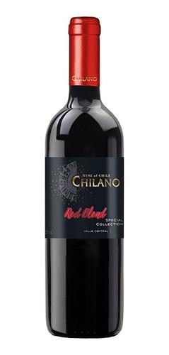 Vinho Chileno Chilano Red Blend Seco 750ml
