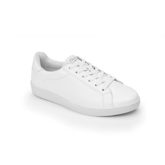 Tenis Flexi 33510 Blanco Casual Juvenil
