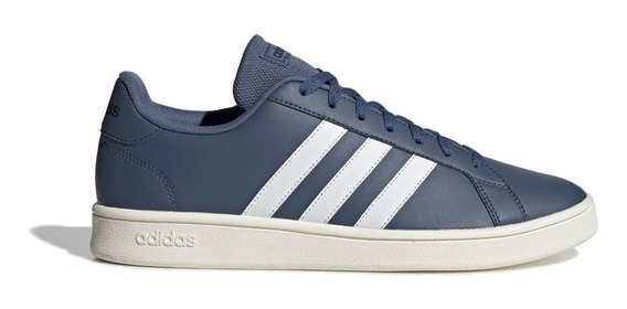 Zapatillas adidas Grand Court Base Hombre Casual Moda Urbano