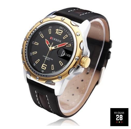 Relógio Masculino C/ Calendario Curren 8104