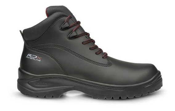 Bota De Seguridad Riverline Rdx Negro Y Cafe