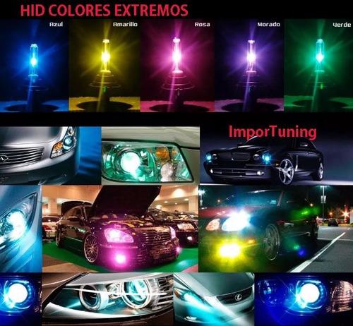 Imagen 1 de 6 de Hid Bixenon H4 Azul Extremo 35watts Precio X Unidad