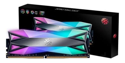 Memoria Pc 16g/3200 Spectrix D60g Ddr4 Rgb (1x16) 3289 Adata