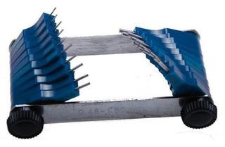 Juego De Galgas De Inyectores   0.45 - 1.50 Mm   20 Piezas