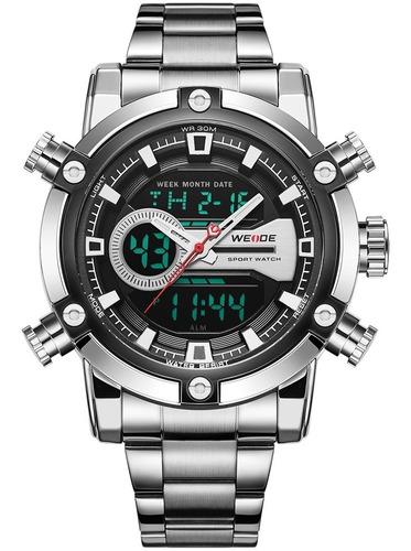 Relógio Masculino Weide Analógico Digital Led Original