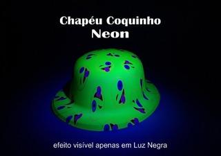 20 Chapéu Festa Balada Neon Coquinho Smile