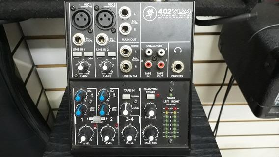 Mesa De Som Mixer Mackie 402 Vlz4