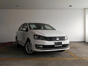 6939 Vw Vento Highline Tiptronic Blanco 2018 Movilidad