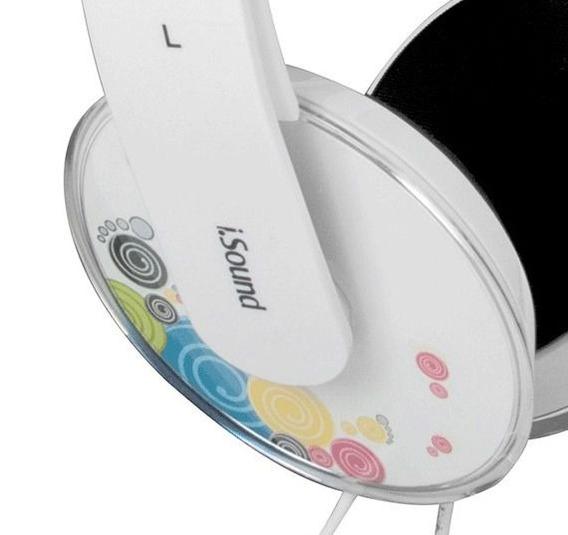 Fone De Ouvido Tipo Headphone Com Microfone Dghp5506 Isound