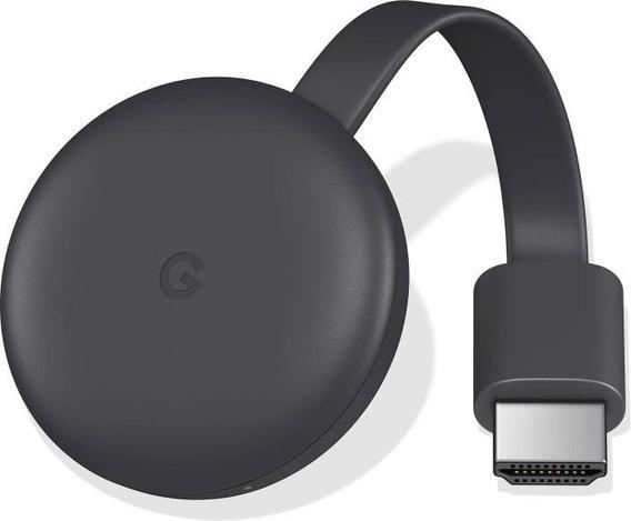 Google Chromecast 3 2019 Original Na Caixa Chrome Cast 3