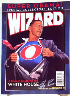 Revista Wizard Super Obama