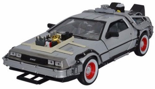 Welly 1/24 Delorean Volver A La Parte Futura Iii
