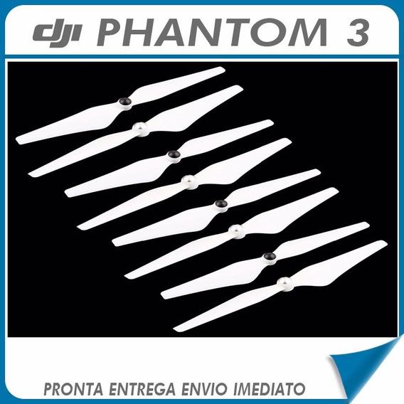 2 Pares De Hélices Phantom 3 Standard Advanced Profissional