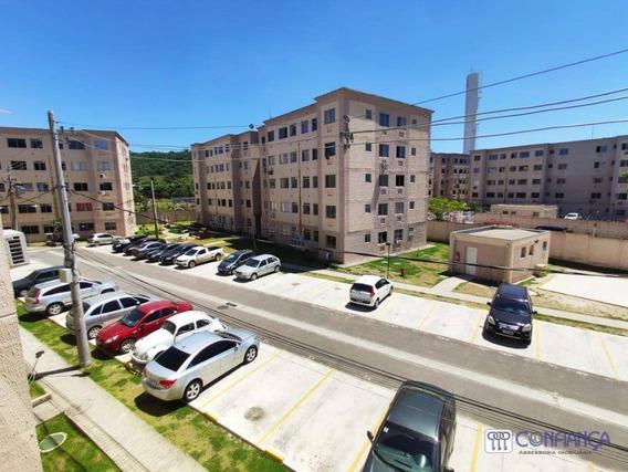 Apartamento Com 2 Dormitórios Para Alugar, 50 M² Por R$ 670/mês - Campo Grande - Rio De Janeiro/rj - Ap0939