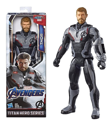 Boneco Thor Avengers Ultimato Titan Hero Series Hasbro 29cm