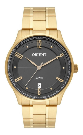 Relógio Orient Masculino Mgss1126 G2kx Dourado Analogico