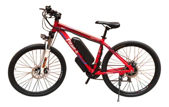 Bicicleta Eléctrica Titan Eb26r Rin 26 Litio + Aluminio