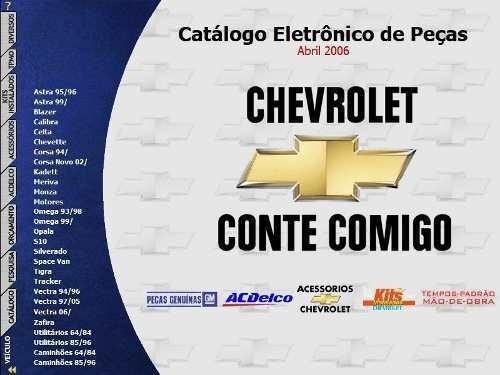 Catálogo Eletrônico De Peças Gm Chevrolet Celta Ate 2006