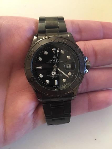 Relógio Masculino Rolex Yachtmaster Black - Frete Grátis