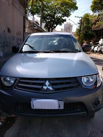 Mitsubishi L200 2.4 Triton Gl Cab. Dupla Flex 4p 2014