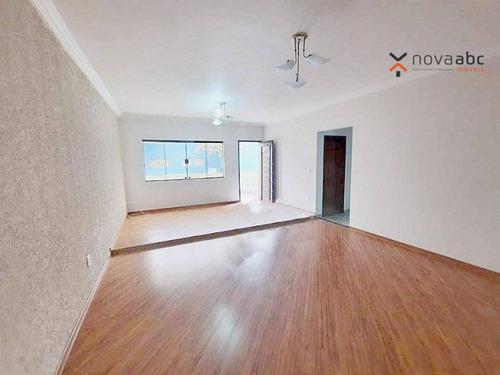 Sobrado Com 4 Dormitórios À Venda, 128 M² Por R$ 890.000,00 - Campestre - Santo André/sp - So0923