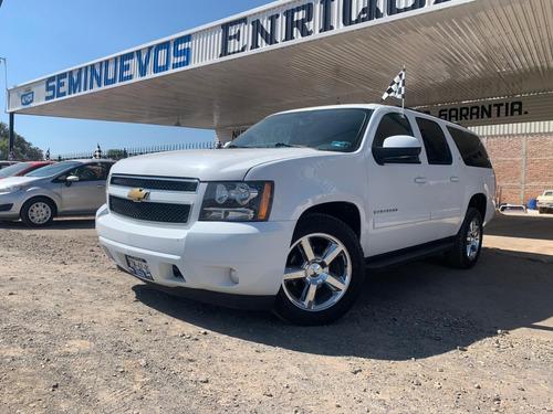 Chevrolet Suburban Lt, 4x4, 2013 Blanco
