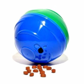 Comedouro Brinquedo Grande Redondog Azul Games Gratidão Pet