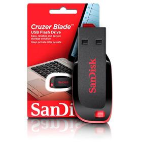 Pen Drive Sandisk 16gb Cruzer Blade Original Com Verificação