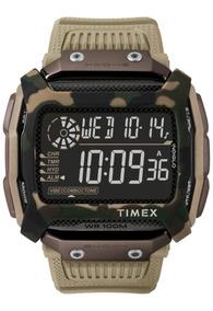 Relogio Timex Command Shock Marrom Camuflado - Tw5m20600