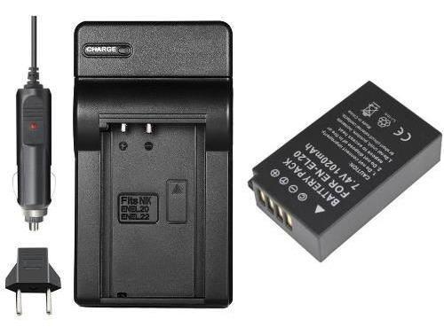 Bateria + Carregador Para Nikon Coolpix P1000