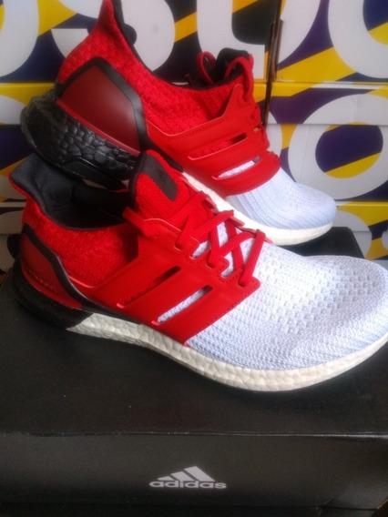 adidas Ultraboost Red/white Tam 39 Original 12xs/juros!