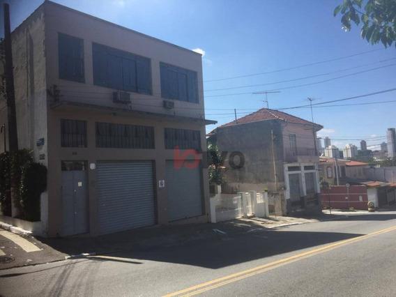 Galpão/ Depósito /armazém - Venda,/locação - 397 M² R$ 1.500.000 -8.500,00 Vila Mariana -sp - Ga0037
