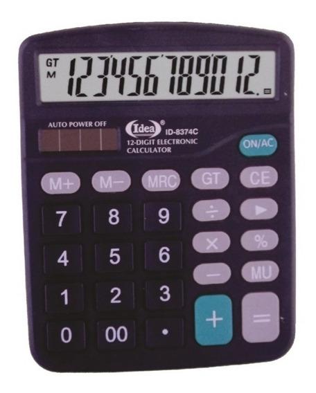 2 Calculadora De Mesa Comercial Escritório 12 Dígitos.