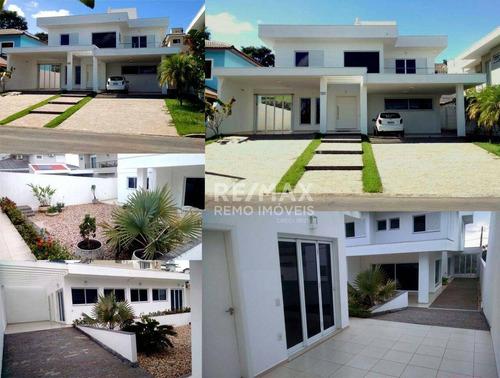 Casa Com 4 Dormitórios À Venda, 388 M² Por R$ 2.000.000,00 - Condomínio Alpes De Vinhedo - Vinhedo/sp - Ca5135