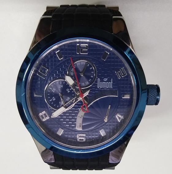 Relógio Masculino Dumont Sz40124ap Novo De Vitrine Com Garantia E Nfe