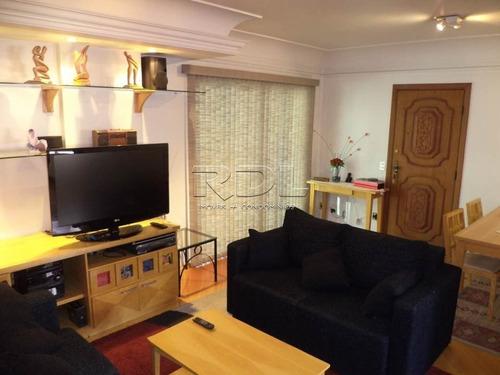Apartamento Para Aluguel, 3 Quartos, 1 Suíte, 2 Vagas, Vila Bastos - Santo André/sp - 3370