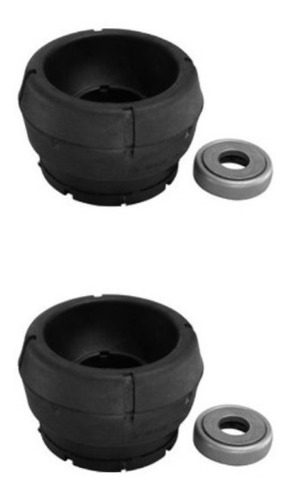 Imagen 1 de 6 de Kit 2 Cazoletas C/ Rulemán Amortiguador Delantero Gol Trend