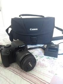 Câmera Canon Rebel T6 C/ Lente 18-55mm E Bolsa Original
