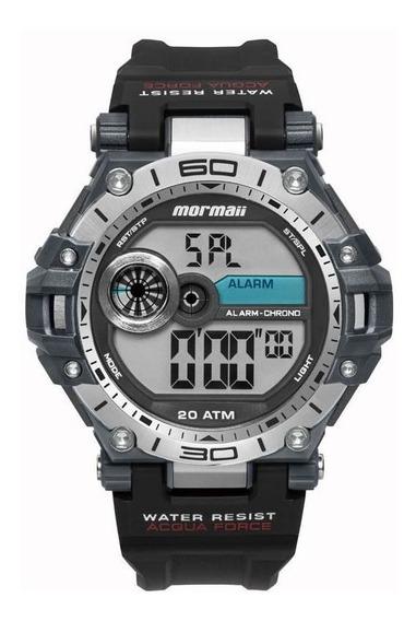 Relógio Mormaii Masculino Ref: Mo14073aa/8p Acqua Preto